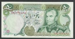 IRAN. 50 RIALS. ND(1974-79). SHAH PALAVI TYPE VIII. SIGN.14. Pick 101a. UNC / NEUF - Iran