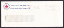 Canada: Cover, 1985, Meter Cancel, Boeing Helicopter, Arnprior Airport, Aviation, Rare (traces Of Use) - Lettres & Documents