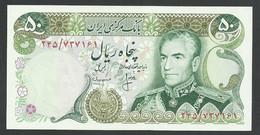 IRAN. 50 RIALS. ND(1974-79). SHAH PALAVI TYPE VIII. SIGN.16. Pick 101c. UNC / NEUF - Iran
