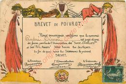 BREVET DE POIVROT   ..  Humour Militaire . - Humor