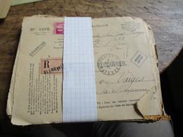 Lot De 83 Valeurs A Recouver Timbre Paix 1 F 75 Seul Sur Lettre Oblieration A Decouvrir - 1921-1960: Modern Period