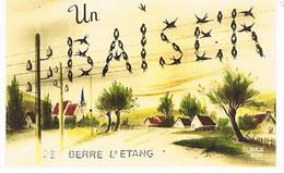 13  UN BAISER  DE     BERRE  L ETANG  CPM  TBE   1053 - Otros Municipios