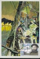 Romania, Maximum Card, Famous People, Explorer Fernando Magellan - Explorers