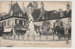 DEPT 21 : édit. Bauer Marchet N° 131 : Dijon Monument Piron - Dijon