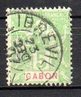 Col23 Gabon N° 19 Oblitéré Cote 5,00 Euro - Gebruikt