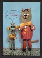 Barberousse Minizup Et Matouvu écrite N° 3 - Bandes Dessinées CPSM  ORTF édition YVON - Dressed Animals