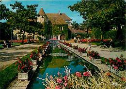 18 - Saint Amand Montrond - Le Jardin Du Musée - Fleurs - CPM - Voir Scans Recto-Verso - Saint-Amand-Montrond