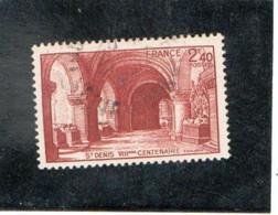 FRANCE   1944  Y.T. N° 661  Oblitéré - Gebraucht