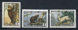 URSS 1961. Yvert 2381-83 ** MNH. - Unused Stamps