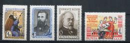 URSS 1961. Yvert 2395-98 ** MNH. - Unused Stamps