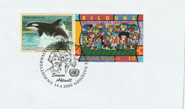 N 828) UN Wien 2000 SSt Senior Aktuell, GB MSt MOTHER's DAY FATHER's Day, Eltern - Giorno Della Mamma