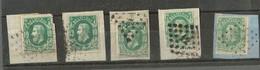 Belgique  Lot - 1865-1866 Profile Left