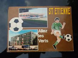 Cp SAINT-ETIENNE, Allez Les Verts 1976 - Soccer