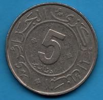ALGERIE 5 DINARS 1984 - 1954  KM# 114 30 Ans De La Révolution - Algeria