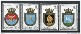 Gibraltar 1990. Yvert 611-14 ** MNH. - Gibraltar