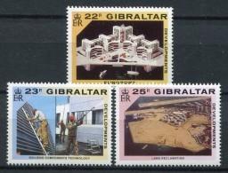 Gibraltar 1990. Yvert 619-21 ** MNH. - Gibraltar
