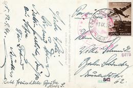 Bulgarien 1941: Ansichtskarte Sofia Nach Berlin-Zensur - Zonder Classificatie