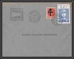 10611 Paris Libéré Ffi 26/8/1944 Libération Guerre 1939/1945 Lettre Cover France - Liberación