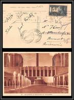10834 N°337 Mermoz Pour Bucaresti Romania Carte Postale Pexip 1937 Postcard France - 1921-1960: Modern Period