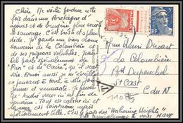11085 N°719B Gandon Taxé Pour St Cast Carte Postale N°1518 Lannion Les Cinq Croix Postcard France - Lettres Taxées