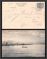 11224 N°13 Blanc Smyrne Turquie Turkey 1910 Pour Troyes Aube Carte Postale Postcard Levant - Lettres & Documents