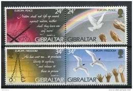 Gibraltar 1995. Yvert 719-22 ** MNH. - Gibraltar