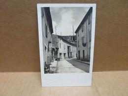 PONT DE BARRET (26) Carte Photo Rue Hotel Du Roubion - Otros Municipios
