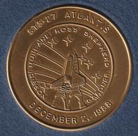 Médaille Commémorative 1988 - Espace, Navette STS-27 Atlantis - Other