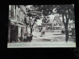Les Sables-d'Olonne - Carte Rare !  Le Boulevard De L'Ouest Et L'annexe Du Grand Hôtel Du Casino - Sables D'Olonne