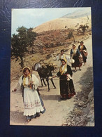 GREECE - 1955 - GREEK COSTUMES -  POSTCARD - Grecia