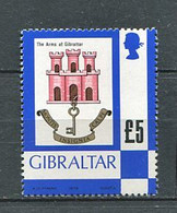 263 GIBRALTAR 1979 - Yvert 396 - Armoirie Blason Ecusson Embleme - Neuf **(MNH) Sans Trace De Charniere - Gibraltar