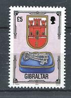 263 GIBRALTAR 1994 - Yvert 703 - Armoirie Blason Ecusson Embleme - Neuf **(MNH) Sans Trace De Charniere - Gibraltar