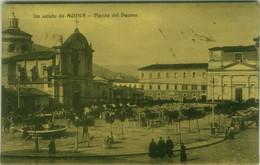 L'AQUILA - UN SALUTO DALL'AQUILA - PIAZZA DEL DUOMO - EDIZ. FOGOLA - SPEDITA 1910 ( 7790) - L'Aquila