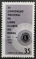 1965 Tagung Des Brasilianischen Lions Club Postfrisch** MiNr: 1077 - Unused Stamps