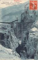05 Hautes Alpes Construction Des Conduites Forcées De L'usine De L'Argentière La Bessée Traversant Les Gorges - L'Argentiere La Besse