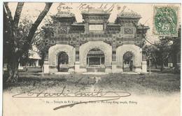 CHINE Temple De PI-YUG PEKIN  Circulée En 1909 - Chine