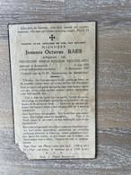 Joannes Octavus RAES °BREENDONK 1884 +BREENDONK 1937 - BEUCKELAERS - Obituary Notices