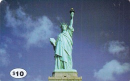 USA - The Statue Of Liberty/New York, New York City Prepaid Card $10, Used - Unclassified