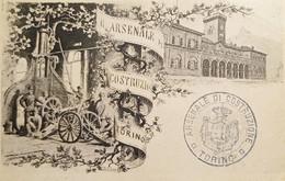 Cartolina Militare - Arsenale Di Costruzione - Torino - 1900 Ca. - Non Classificati