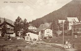 Cartolina - Svizzera - Champex ( Valais ) - 1920 Ca. - Non Classificati
