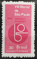 1965 Kunstausstellung Sao Paolo Postfrisch** MiNr: 1087 - Unused Stamps