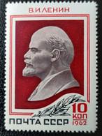 RUSSIA  MNH (**1962 The 92nd Birth Anniversary Of Vladimir Lenin)   Mi 2591 - Unused Stamps