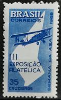 1965 Flugwoche 3. Nationale Briefmarkenausstellung Sao Paolo Postfrisch** MiNr: 1090 - Unused Stamps