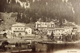 Cartolina - Svizzera - Lac Champex - 1905 Ca. - Non Classificati