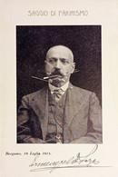 Cartolina Ricordo - Bar Grotta Di Ermenegildo Sora - Bergamo - 1913 - Non Classificati