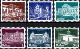 """Moldova 2011 """"Architecture"""" 6v Quality:100% - Moldavie"""