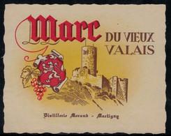 Vieux Marc Du Valais, Eau-de-vie - Fruits & Vegetables