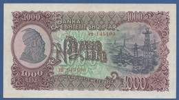 ALBANIA - P.32 –  1.000 LEKE 1957  UNC- Serie TH 145100 - Albania