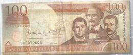 BILLET , Republica Dominicana , 100 ,cien Pesos Oro, 2006 , 2 Scans , Frais Fr 1.55 E - Dominicana