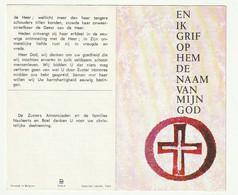 Doodsprentje Zuster Polyxene NAULAERTS (Honorea) Schelle 1921 Bestuurder Meijesschool Ravels-Eel 1971 - Devotieprenten